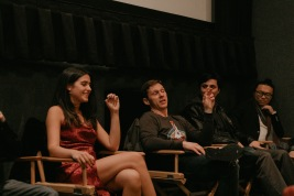 """The team of """"Expiration"""" at the IndieX November live screening in Hollywood"""