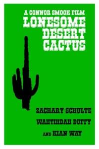 Lonesome Desert Cactus